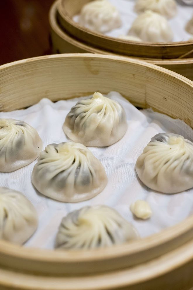 Truffle dumplings portrait Din Tai Fung Hong Kong Final