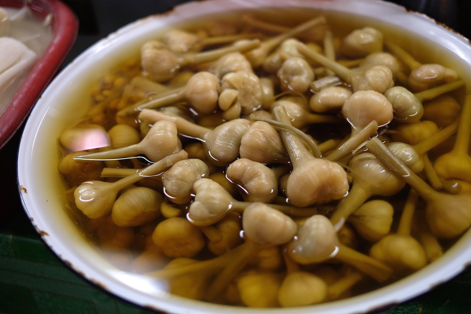 Chiang Mai Thai Farm Cooking School Garlic