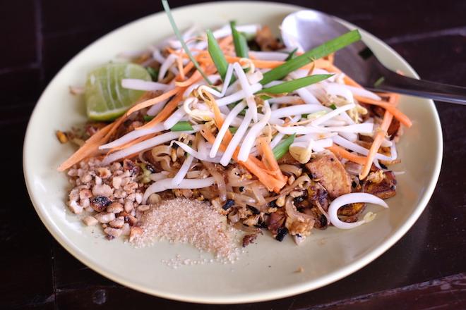 Chiang Mai Thai Farm Cooking School Pad Thai