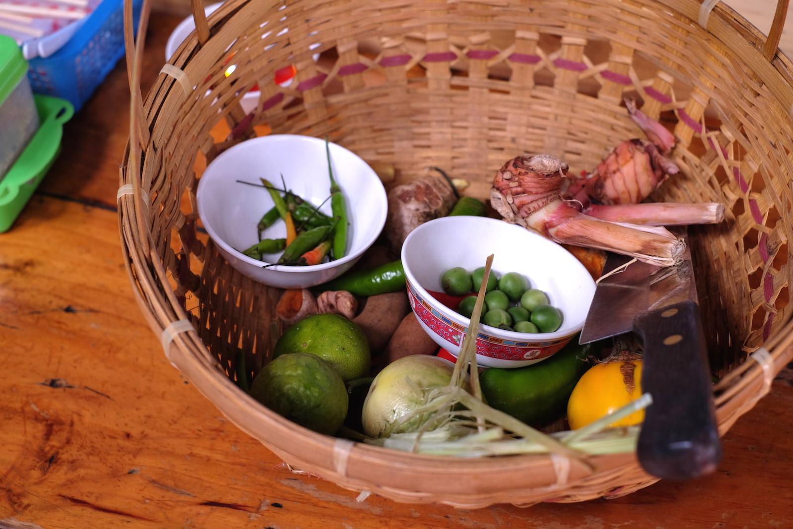 Chiang Mai Thai Farm Cooking School herbs and spices