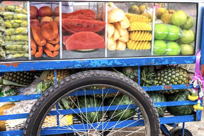 Street Life in Phitsanulok Fruit Stall