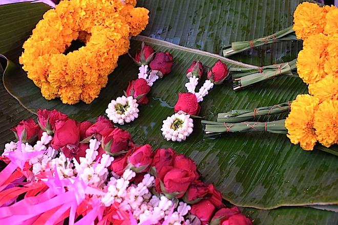 Street Life in Phitsanulok flowers