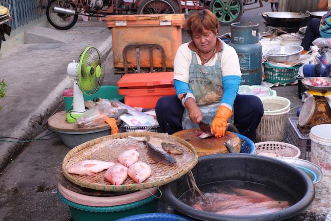 Street Life in Phitsanulok wet market