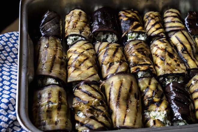 Eggplant Canneloni