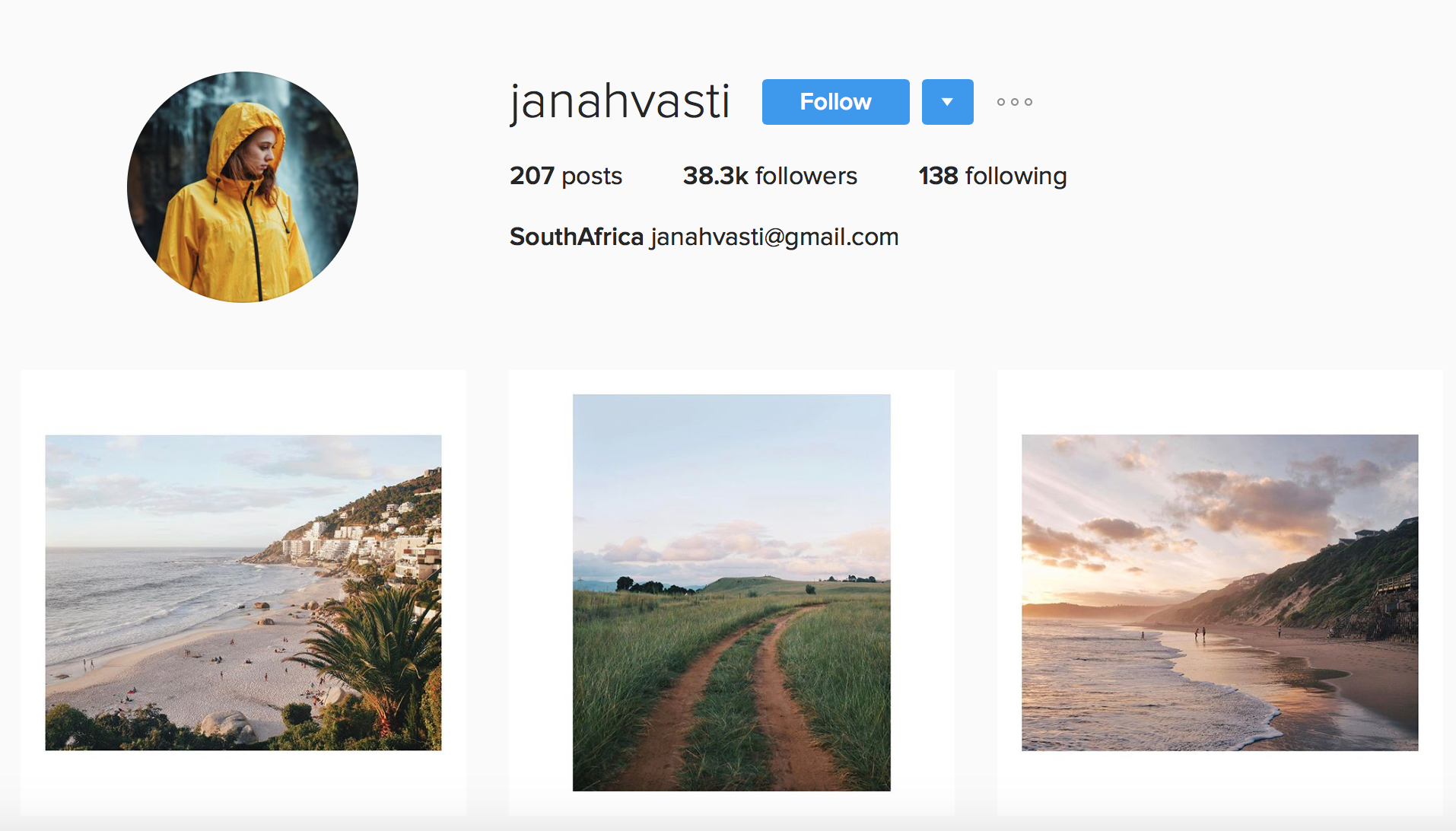 Inspiring Instagram Accounts to Follow Janah Vasti