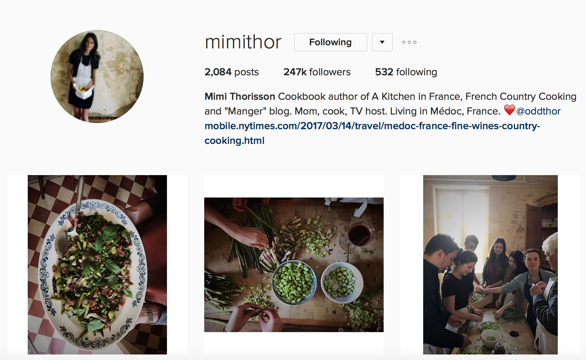 Inspiring Instagram Accounts to Follow Mimi Thor