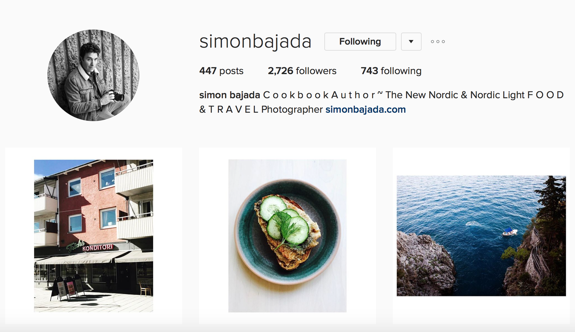 Inspiring Instagram Accounts to Follow Simon Bajada