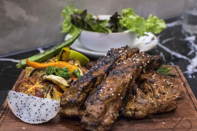 Phitsanulok Ox Bar and Grill ribs