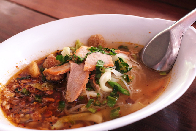 Where to Eat in Phitsanulok Tom Yum Noodles