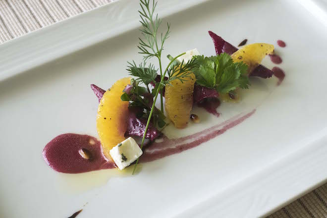 Sri Lanka Ceylon Tea Trails Baby Beet Salad c_up