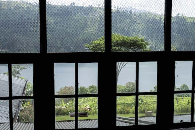 Sri Lanka Ceylon Tea Trails Factory Window 2