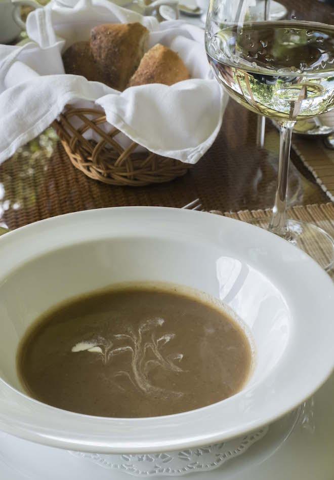 Sri Lanka Ceylon Tea Trails French Vanilla Soup
