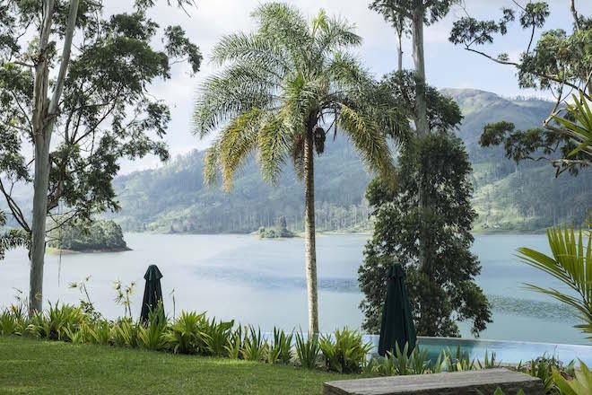 Sri Lanka Ceylon Tea Trails Somerville house pool view