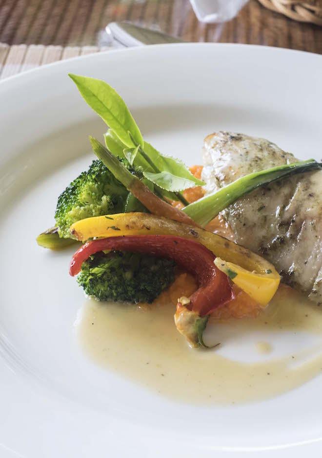 Sri Lanka Ceylon Tea Trails White fish portrait