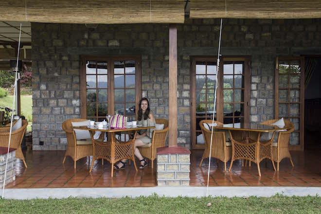 Sri Lanka Dunkeld Tea Estate Jen Lunch