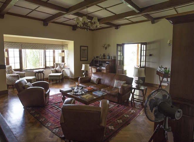 Sri Lanka Dunkeld Tea Estate Living Area IR