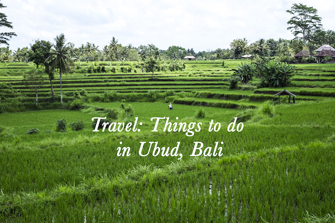 Things to do in Ubud Bali cover