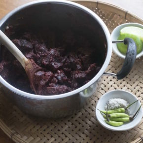 A Beetroot Curry Recipe & Story