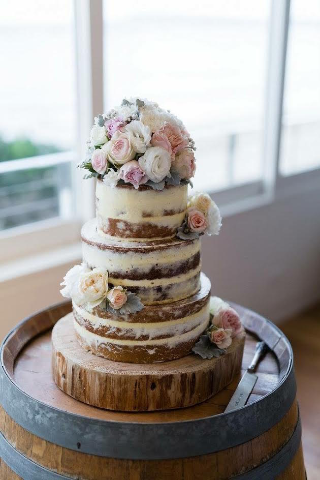 Sweets for Tilly SFT Three Tiered Layer Cake photo by Sorrento wedding photography