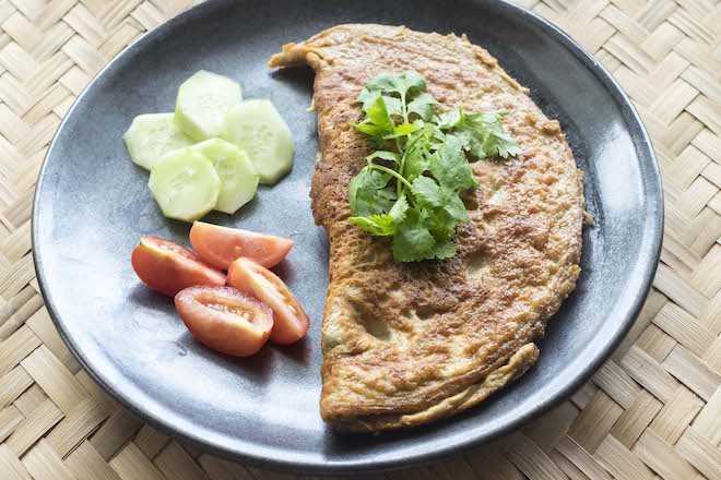 Thai Omelette Khai Jiow cover
