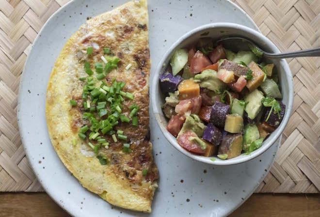 Veggie Omelette Recipe landscape