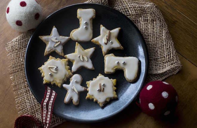 German Christmas Cookies Weihnachtsplätzchen landscape