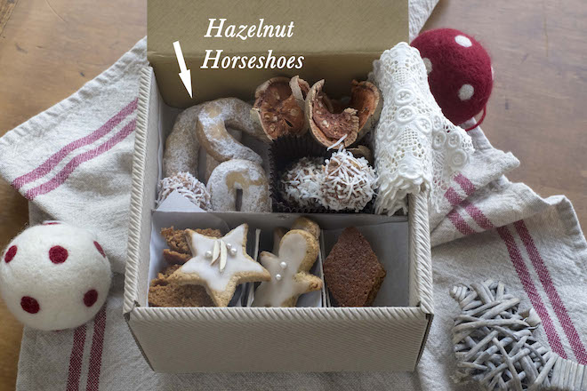 Hazelnut Horseshoe Biscuits Nusskipferl recipe