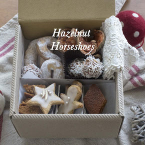 Hazelnut Horseshoe Biscuits