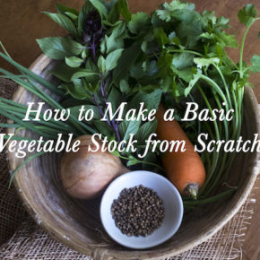 A Basic Recipe for Vegetable Stock