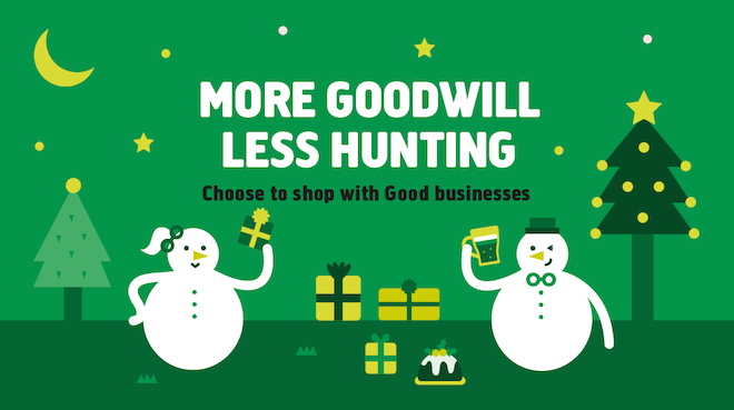 The Goodsmiths Christmas campaign