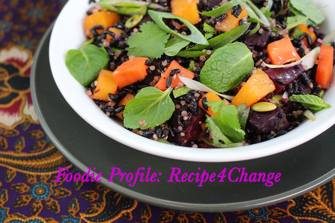 Foodie Profile Recipe4Change Cover