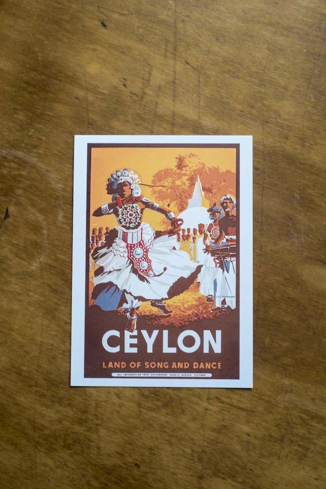 Sri Lanka Ceylon Postcard straight