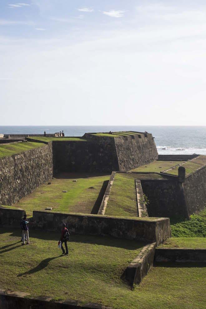 Sri Lanka Galle Fort ramparts
