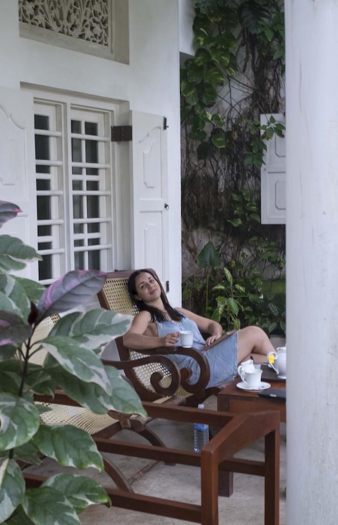 Sri Lanka Mirissa porch 3