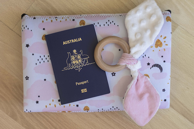 Travel Tips for Flying Solo with a Baby Clutch Toy