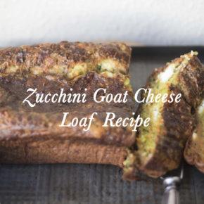 Zucchini Goat Cheese Loaf Recipe