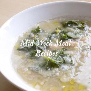 Mid Week Meal Recipes