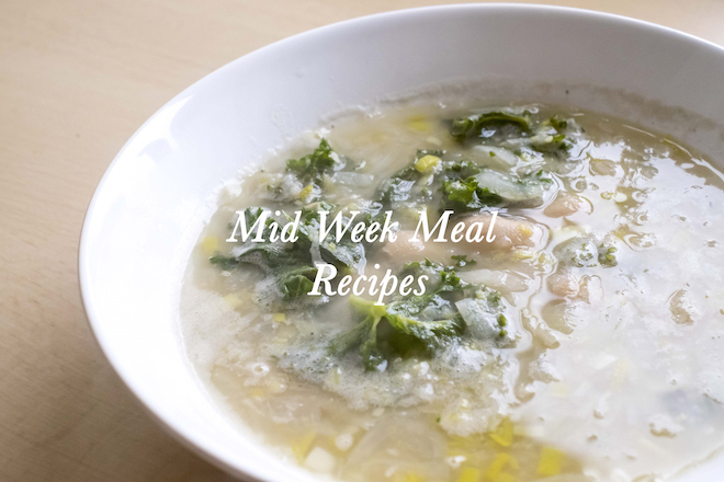 Mid Week Meal Recipes Cover