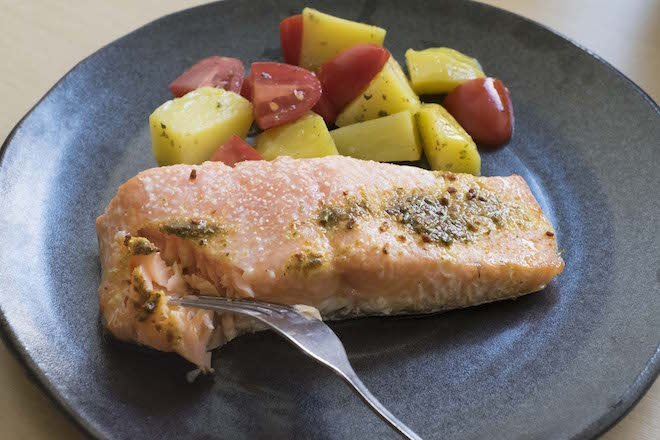 Salmon Boat Recipe hero