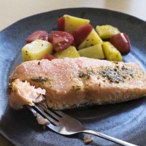 Simple Baked Salmon Recipe (Salmon Boats)