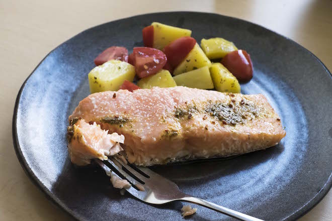 Simple Baked Salmon Recipe