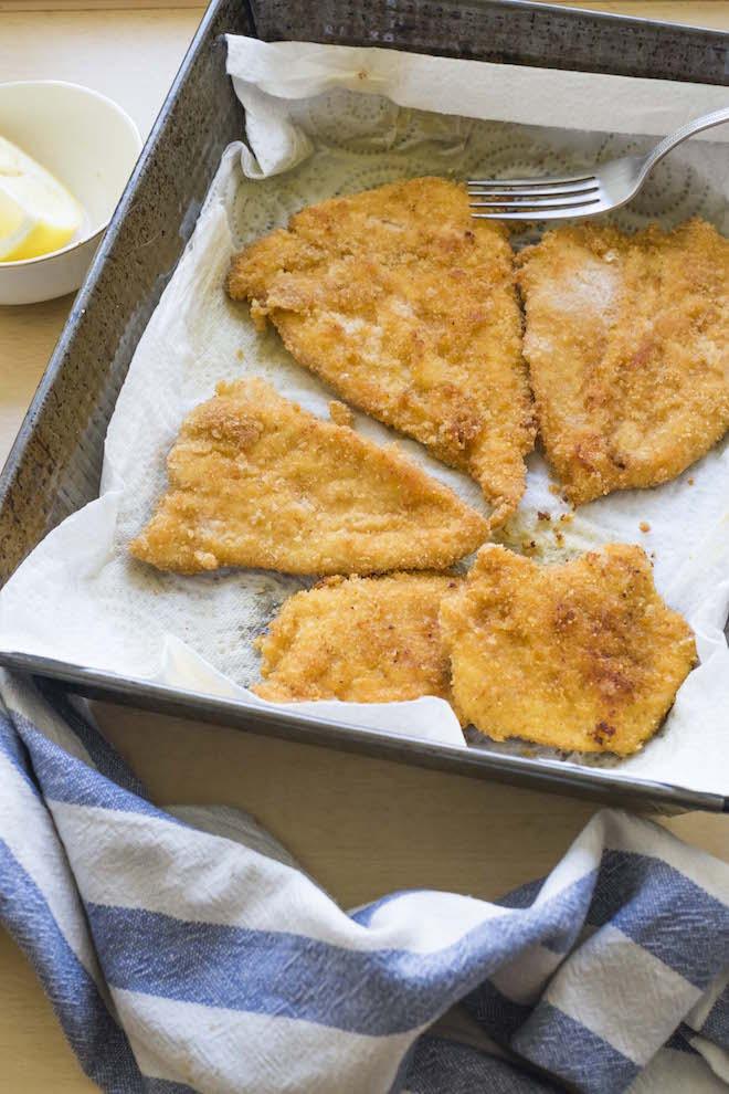 Paprika Schnitzel Recipe tray ws