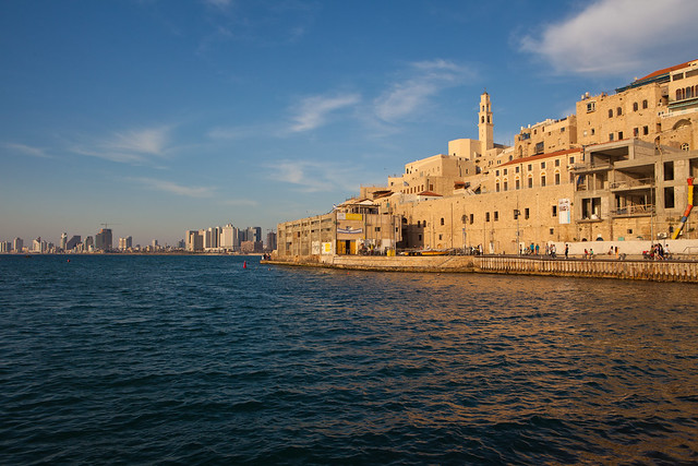 Jaffa Port by Dana Friedlander
