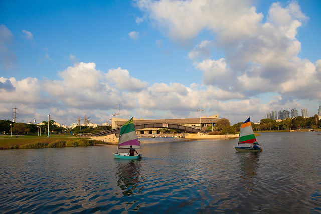 Tel Aviv Travel Guide The Yarkon River by Dana Friedlander