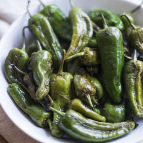 Blistered Balsamic Padrón Peppers Recipe