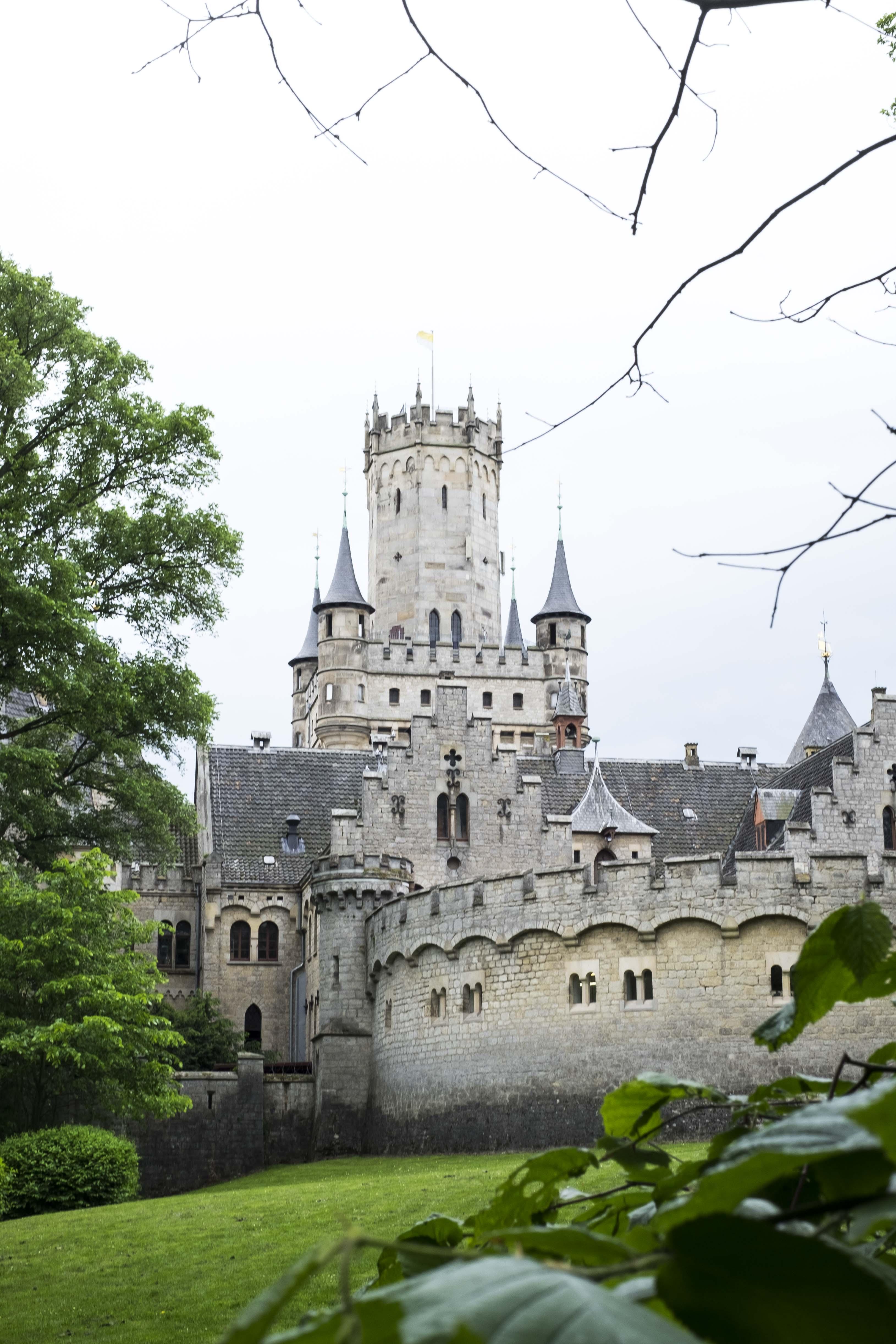 Marienburg Castle website cover