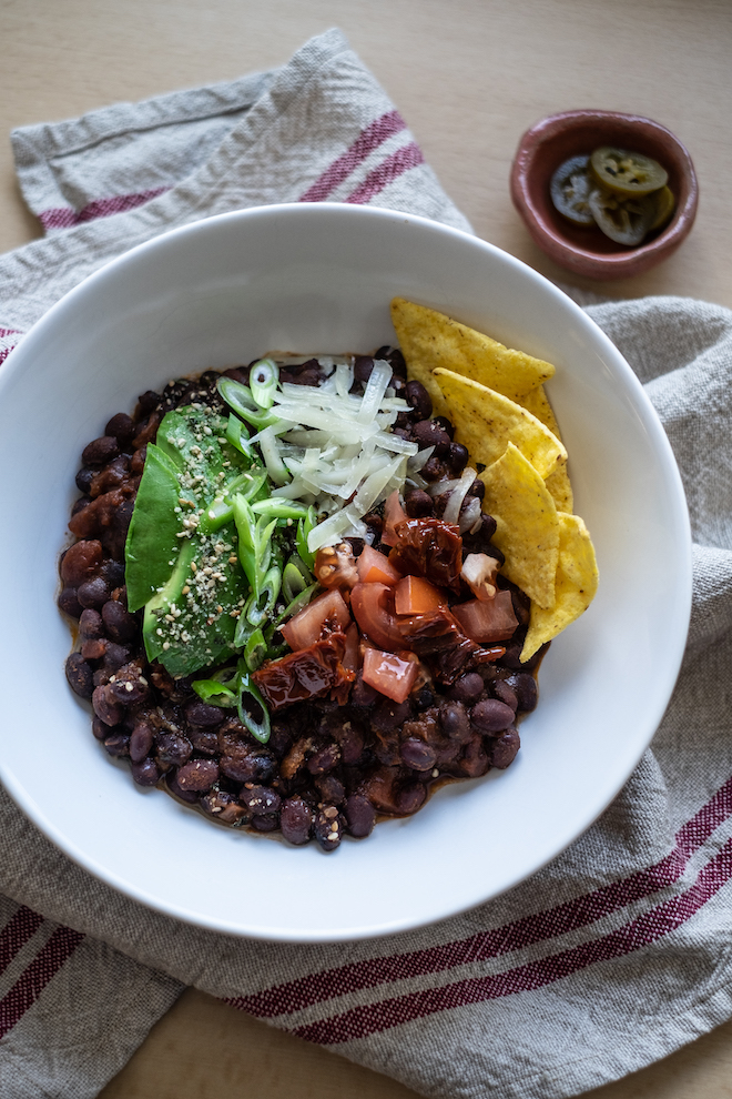Vegetarian Chili Recipe portrait SITE