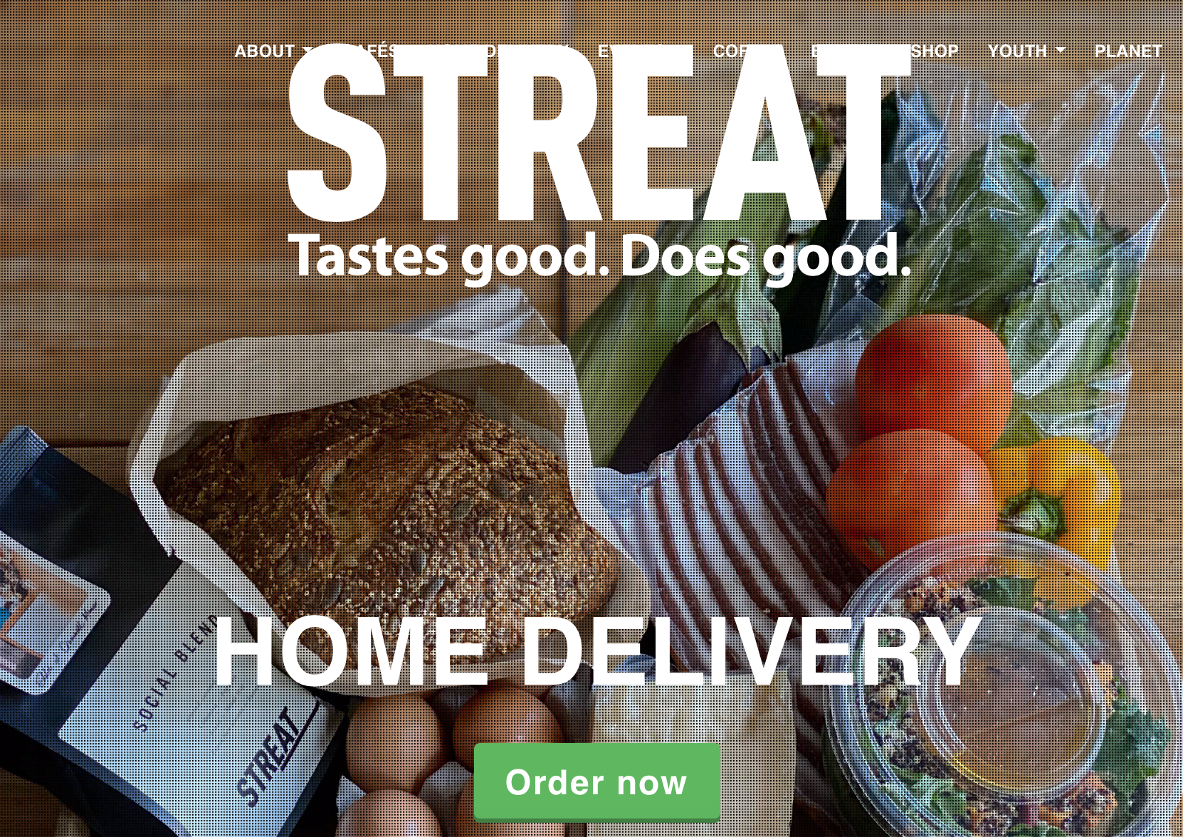 STREAT home delivery Melbourne Food Orders for Good