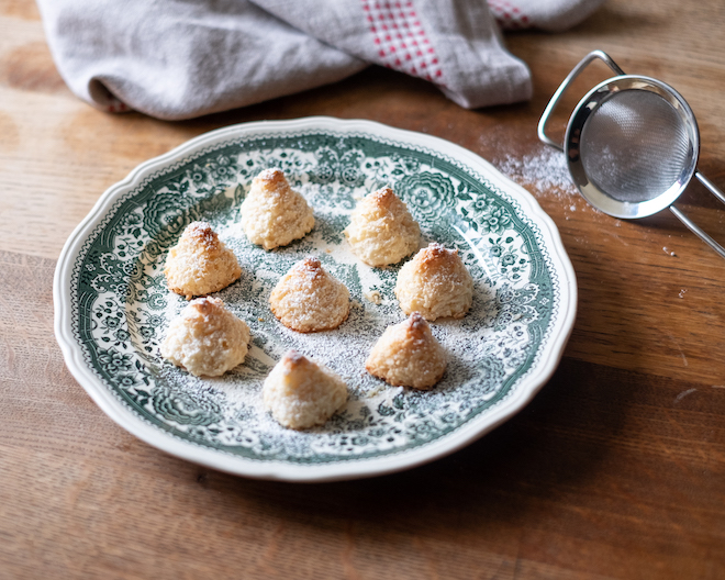 Coconut Macaroons recipe 4 trees and snow two