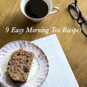 9 Easy Morning Tea Recipes